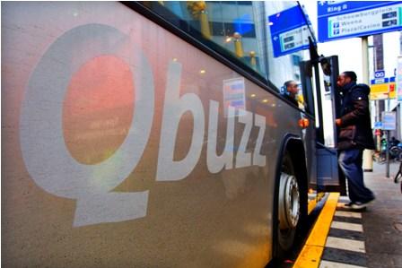 Qbuzz, bus Rotterdam, ov-chipkaart