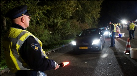 alcoholcontrole, politie, proef