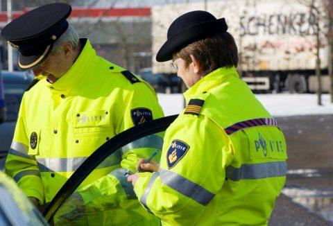 controle, politie, Inspectie Verkeer en Waterstaat