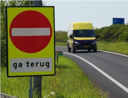 spookrijder, snelweg