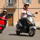 scooter, brommerrijbewijs, praktijkexamen bromfiets