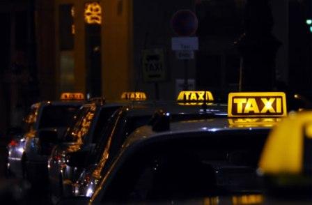 taxi, rij
