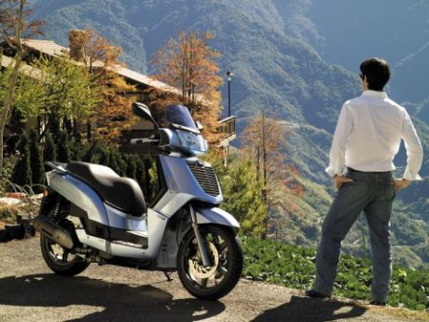 Kymco, scooter