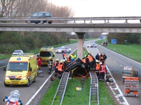ongeluk, snelweg