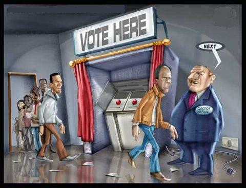 stemmen, cartoon