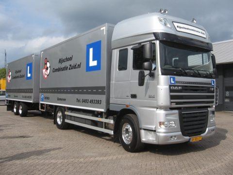 vrachtwagenrijbewijs, rijles, vrachtwagen