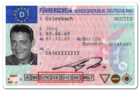 rijbewijs, Duitsland, examinator