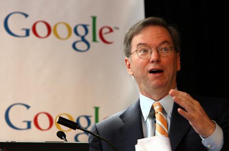Eric Schmidt, CEO Google