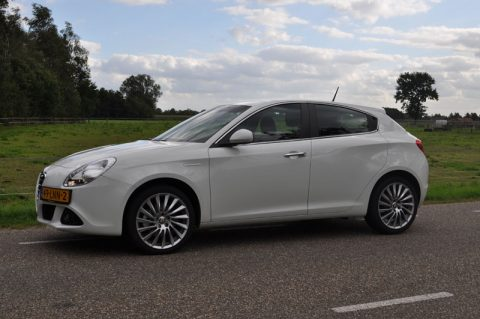 Alfa Romeo, Giulietta, rijtest