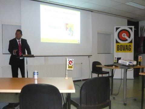 Bovag, Najaarsbijeenkomst, Ronald van Ee, rijschool
