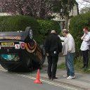 lesauto, Engeland, ongeluk