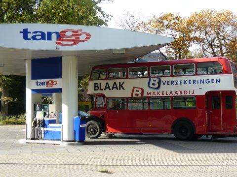 tango, benzinepomp, Blaak Verzekeringen