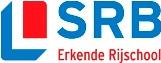 Het nieuwe logo van Stichting Rijschool Belang (SRB)