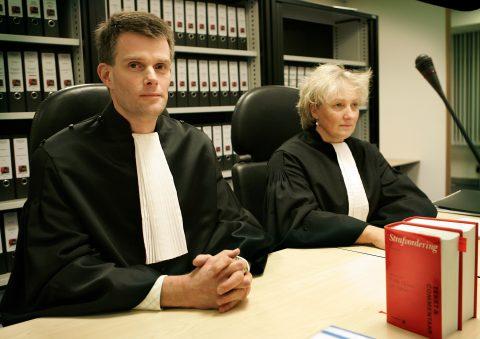 officier van justitie, rechtbank, eis