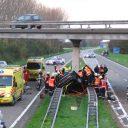 ongeluk, verkeersveiligheid, snelweg