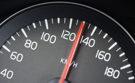 snelheidsmeter, maximumsnelheid
