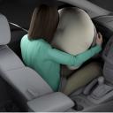 airbag, bestuurder, houding, verwonding