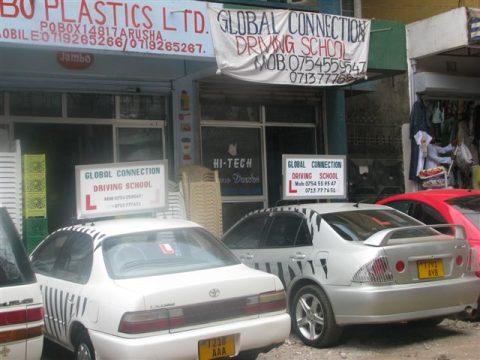 rijschool, lesauto, Afrika, Global Connection, Tanzania