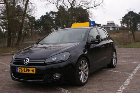 lesauto, Snelweg, Volkswagen, Golf, VI