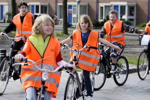 Verkeersexamen, basisschool, fietsexamen