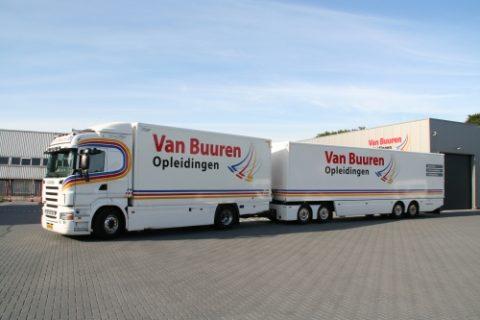 LZV, Lange Zware Vrachtwagen, Rijschool Van Buuren