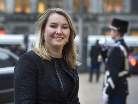 Minister Melanie Schultz van Haegen, Infrastructuur en Milieu