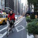 New York, City, fietspad