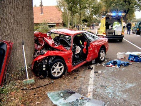 ongeval, ongeluk, auto
