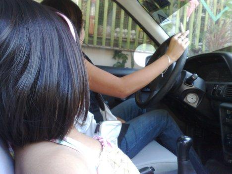 roken in de auto, bestuurder