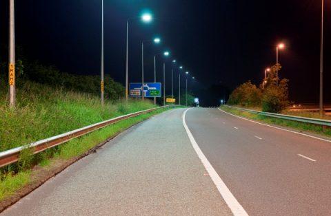 verlichting, snelweg