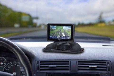 TomTom, beanbag, bevestiging dashboard, navigatie