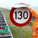 snelweg, maximumsnelheid, 130 kilometer per uur