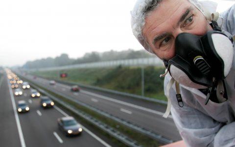 luchtvervuiling, snelweg