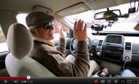 Google, auto, zonder bestuurder