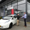 lesauto, Nissan Leaf, elektrisch, rijschool, Wienholts