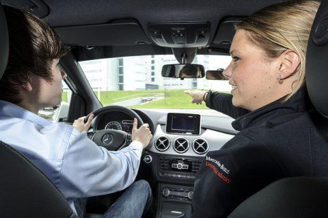 Mercedes-Benz, Driving Academy, rijschool, rijles, rijinstructeur, lesauto
