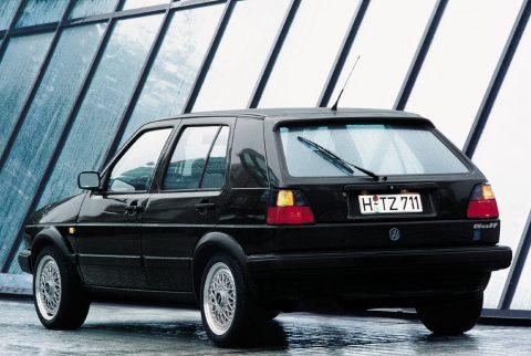 Volkswagen, Golf II, Limited