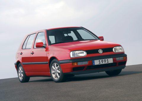Volkswagen, Golf, III, 3