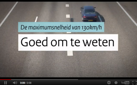 Rijkswaterstaat, 130 km/h