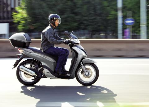 Honda, SH 125i, A1 automaat, scooter, 125 cc