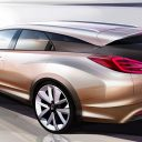 Honda, Civic, wagon, concept