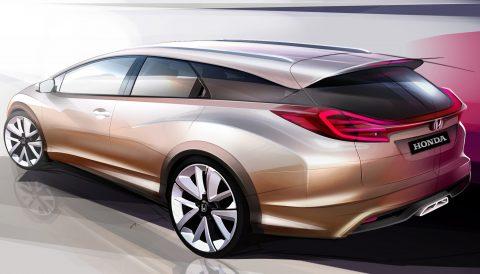 Honda, Civic, wagon, concept