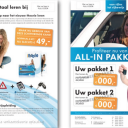 Folder, Lens Media, iTheorie, aanbieding