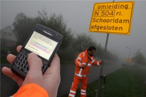 pilot wegwerkzaamheden Noord-Holland