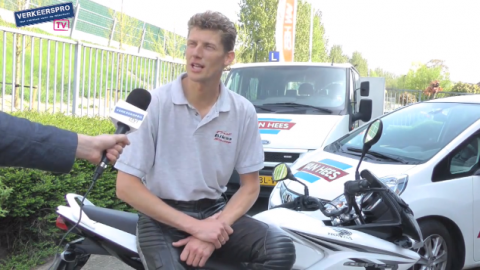 Tom ten Wolde, rijtest, motorfiets, motor, rijinstructeur, A