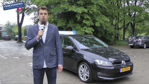 rijtest, Bart Pals, Volkswagen Golf VII, 2.0 TDI, lesauto