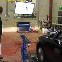 Rollerbanktest, snelheidsmeter, auto, afwijking, VAB