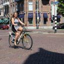 Manouk Brouwers, fiets, afleiding, verkeer, zomer