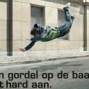 Campagne gordeldracht BIVV, België