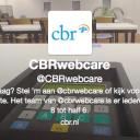 CBR, Webcare, twitter